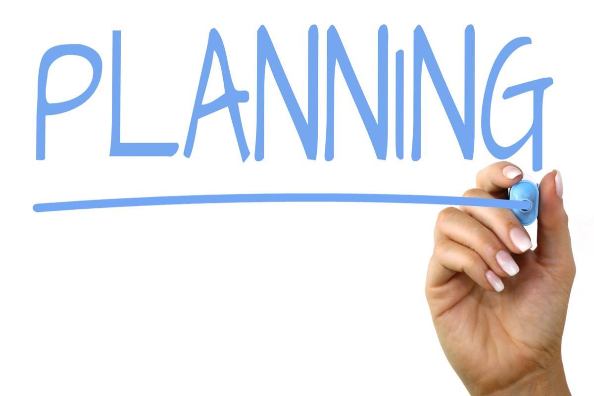 Imae of planning written in a board